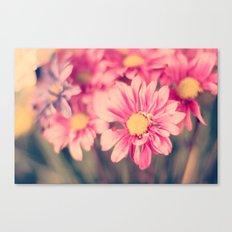 Pink Retro  Canvas Print