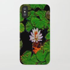 From the Lilypads iPhone X Slim Case