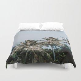 palm trees xv / phi phi islands, thailand Duvet Cover