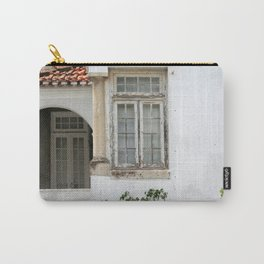House with Closed Windows Carry-All Pouch