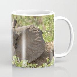 Desert Elephant Calf at Grootberg Coffee Mug