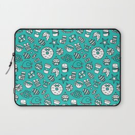 PRETTY LITTLE CHRISTMAS THINGS - Turquoise Laptop Sleeve