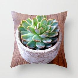 cactus phone case Throw Pillow