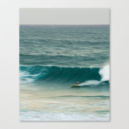 Surfer in Burleigh Heads Canvas Print