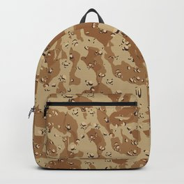 Desert Camouflage Backpack