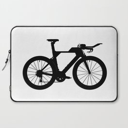 Bike T.T. Black Laptop Sleeve