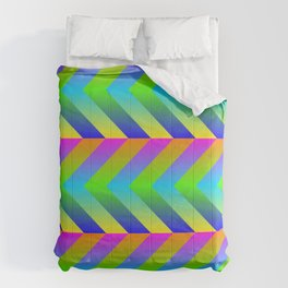Colorful Gradients Comforters