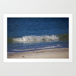 A Wave is But a Whisper Art Print