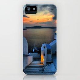 Santorini 15 iPhone Case