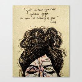 Long Distance Love  Canvas Print