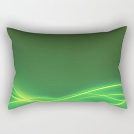 Ecclectic Waves Rectangular Pillow