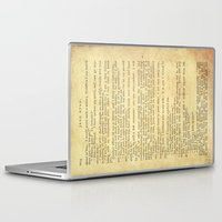 jane eyre Laptop & iPad Skins featuring Jane Eyre, Mr. Rochester First Marriage Proposal by Charlotte Bronte by ForgottenCotton