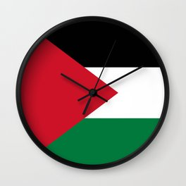 Flag of Palestine Wall Clock