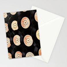 Vinyl Record Stationery Cards