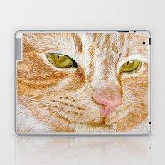 Yellow Cat Laptop & iPad Skin