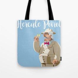 Agatha Christie's Hercule Poirot Tote Bag
