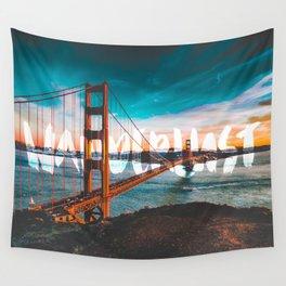 WANDERLUST San Francisco Wall Tapestry