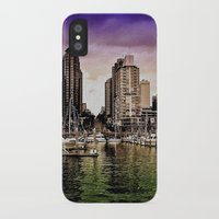 vancouver iPhone & iPod Cases featuring Vancouver Storm by Anthony M. Davis