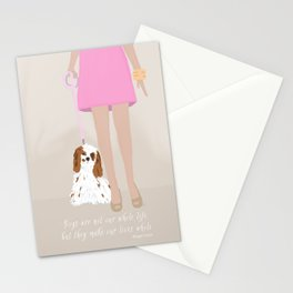 City Dogs: Elizabeth Stationery Cards