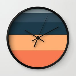 Sunrise Fade Wall Clock