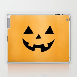 Happy Jack-O-Lantern Laptop & iPad Skin