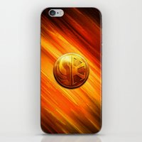 daenerys iPhone & iPod Skins featuring IMPERIAL LOGO by BeautyArtGalery