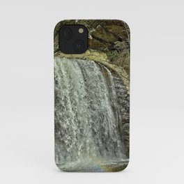 Looking Glass Falls Moment iPhone Case