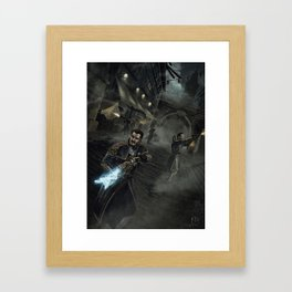 Into the Night (The Order 1886) Framed Art Print