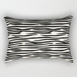 Zebra Stripes Rectangular Pillow