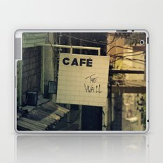 Cafe The Wall Laptop & iPad Skin