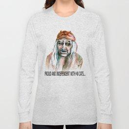 Kids and Strangers, beware Long Sleeve T-shirt