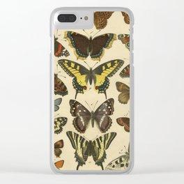 Beautiful Butterflies Clear iPhone Case