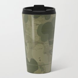 Camouflage military background Travel Mug