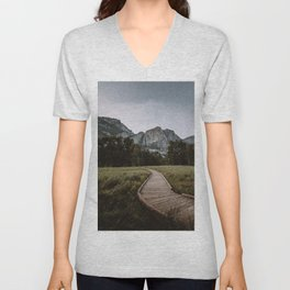 YOSEMITE PATH Unisex V-Neck