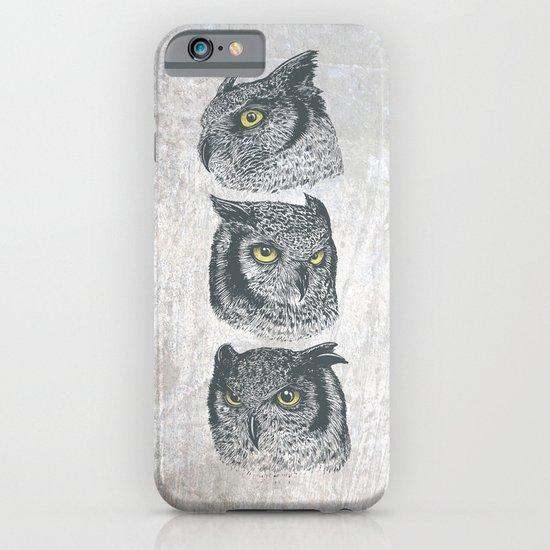 Three Owls iPhone & iPod Case