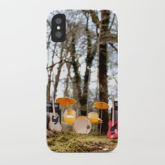 If a band plays in the forest ...... iPhone X Slim Case