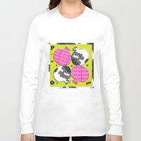pomegranate Long Sleeve T-shirts featuring pomegranate by Isabella Asratyan