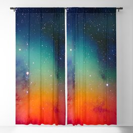 Deep Space Explorer No5 Blackout Curtain