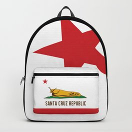 Santa Cruz Republic Banana Slug Flag Backpack