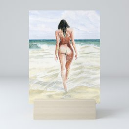 Waves Of Freedom Mini Art Print