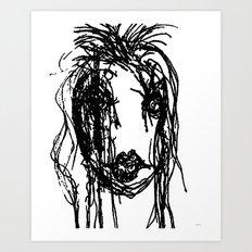 Tulula  Art Print