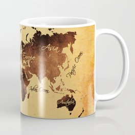 world map 75 Coffee Mug