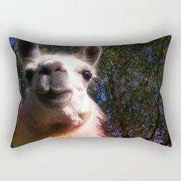 Blanche in paradise Rectangular Pillow