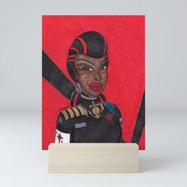 Vermillion Queen Mini Art Print