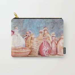 Lithuanian Pottery  WC20150709a Carry-All Pouch