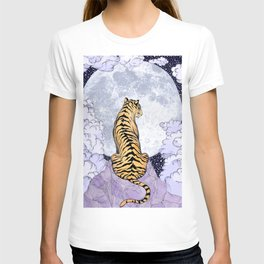 Tiger Moon | Colour Version T-shirt