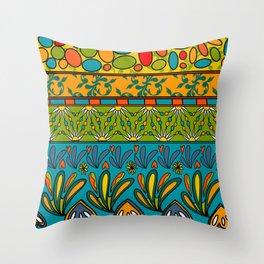 Fete du paisley estival original Throw Pillow