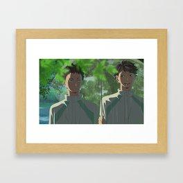 Garden of Iwaoi Framed Art Print