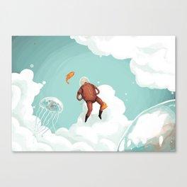 Skynaut Canvas Print