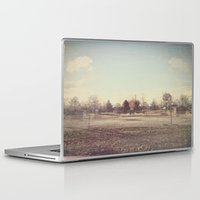 parks Laptop & iPad Skins featuring When Parks Were a Thing by Jane Lacey Smith